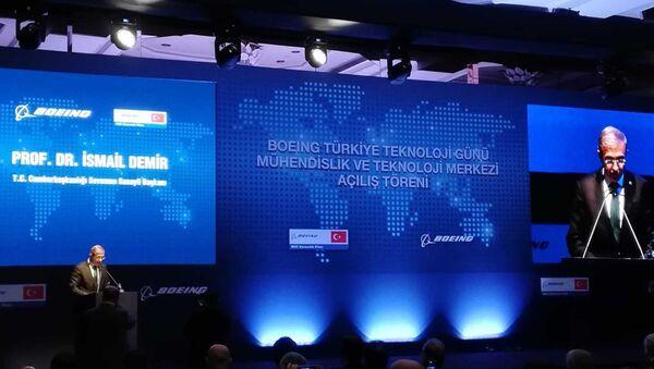 Boeing, Türkiye'deki ilk mühendislik ve teknoloji merkezini açtı - Sputnik Türkiye