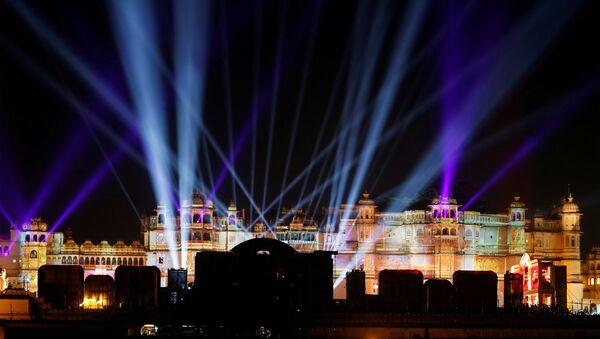 Hindistan'da yılın düğünü: Hillary Clinton ve Beyonce de katıldı - Sputnik Türkiye