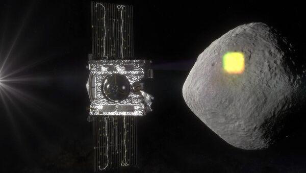 Uzay aracı OSIRIS-REx' tarafından çizielen gök taşı Bennu - Sputnik Türkiye