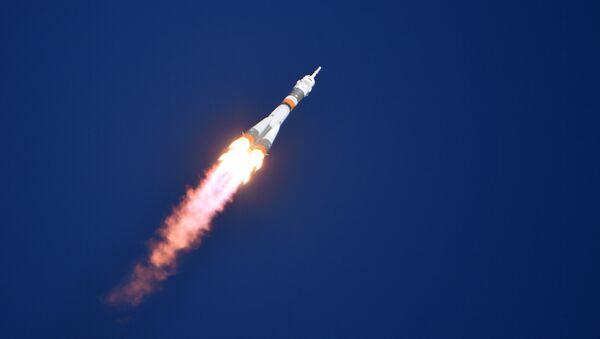Soyuz MS-10 Launch to ISS from Baikonur Cosmodrome - Sputnik Türkiye