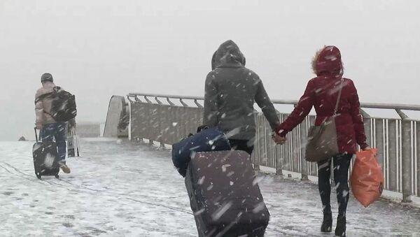 Kar yağışı - Sputnik Türkiye