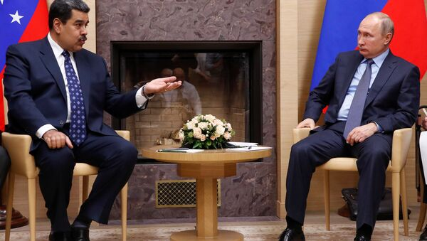 : Rusya lideri Vladimir Putin- Venezüella lideri Nicolas Maduro - Sputnik Türkiye