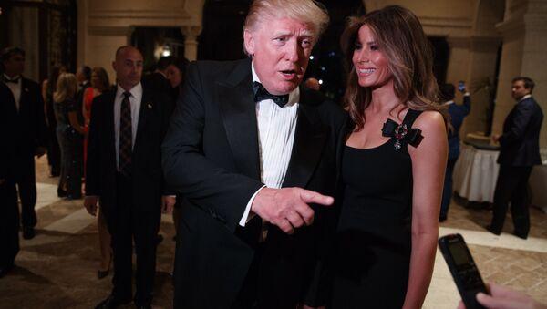 ABD Başkanı Donald Trump - Melania Trump - Sputnik Türkiye