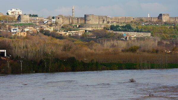 Dicle Nehri - Diyarbakır - Sputnik Türkiye