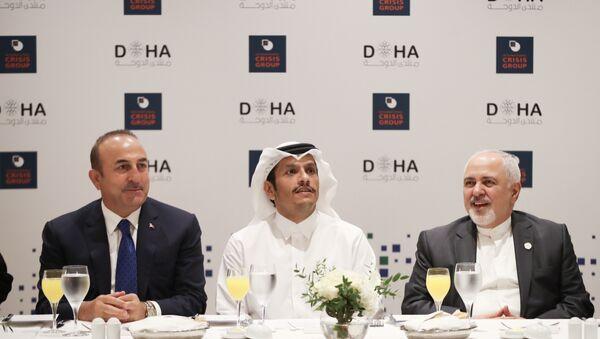 Doha Forumu - Dışişleri Bakanı Mevlüt Çavuşoğlu - Sputnik Türkiye