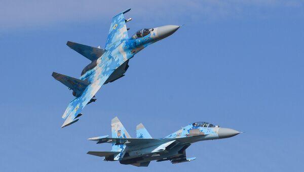 Su-27 fighter jet - Sputnik Türkiye