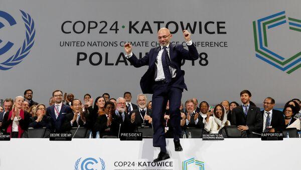 BM İklim Değişikliği Çerçeve Sözleşmesi 24. Taraflar Konferansı (COP24) olarak adlandırılan toplantı - Sputnik Türkiye