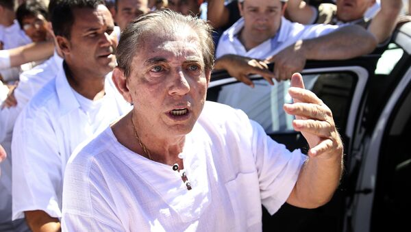 Brezilya'da tecavüzle suçlanan 'medyum' teslim oldu - Joao Teixeira de Faria - Sputnik Türkiye