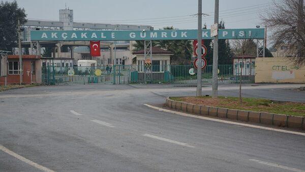 Akçakale sınırı kapısı - Sputnik Türkiye