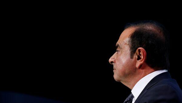 Carlos Ghosn, exjefe del consorcio automovilístico Nissan - Sputnik Türkiye