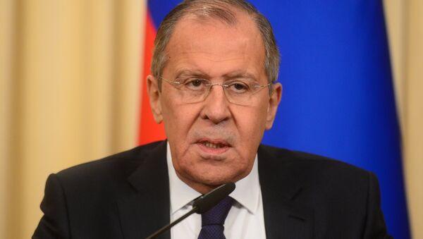 usya Dışişleri Bakanı Sergey Lavrov - Sputnik Türkiye