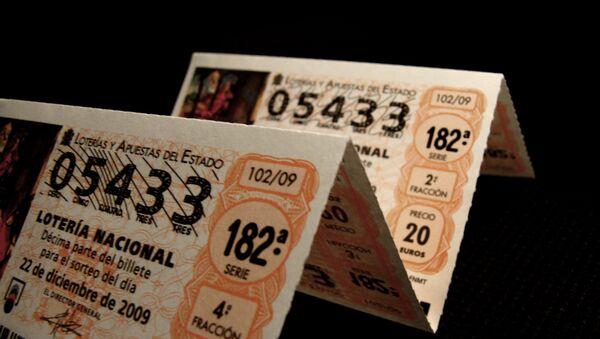 Billetes de Lotería de Navidad - Sputnik Türkiye