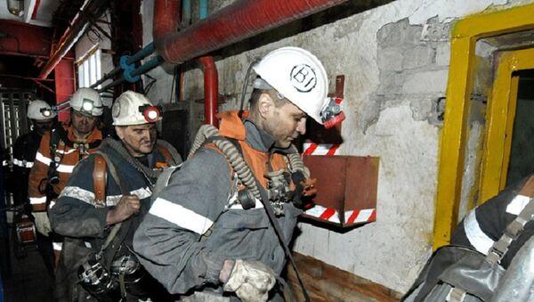 Rusya maden ocağı yangın - Sputnik Türkiye