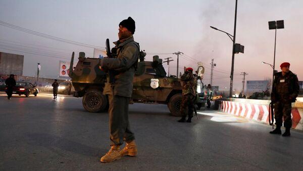 Afgan güvenlik güçleri - Afganistan - Sputnik Türkiye