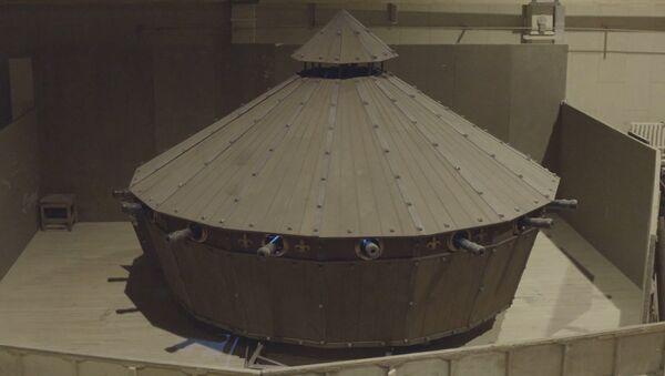 Belarus'ta 'Leonardo da Vinci tankı' yapıldı - Sputnik Türkiye