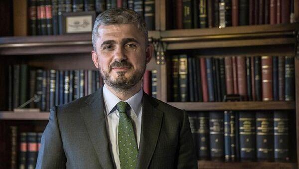 Cumhurbaşkanı Recep Tayyip Erdoğan'ın avukatı Hüseyin Aydın - Sputnik Türkiye
