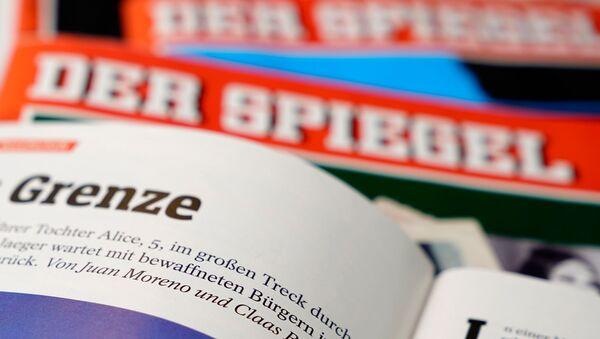 Almanya'nın Der Spiegel dergisinin Claas Relotius-Juan Moreno imzalı haberi - Sputnik Türkiye