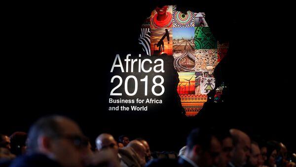 Mısır'ın Şarm el Şeyh kentinde düzenlenen 2018 Afrika Forumu - Sputnik Türkiye