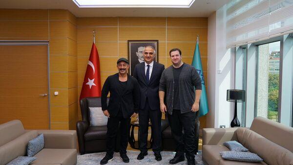 Şahan Gökbakar - Cem Yılmaz - Sputnik Türkiye