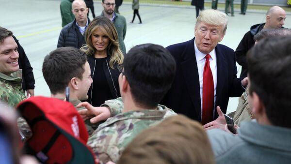 ABD Başkanı Donald Trump- Irak - Sputnik Türkiye