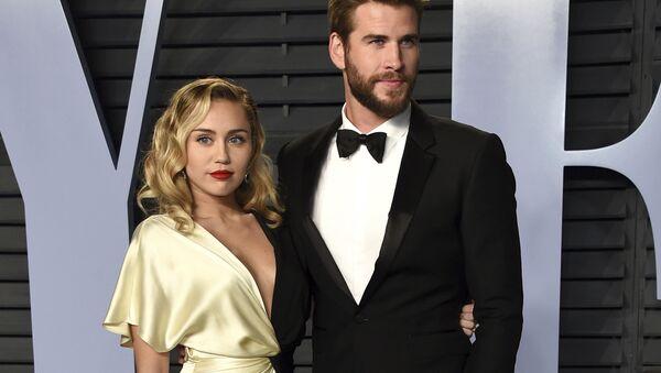 Miley Cyrus - Liam Hemsworth - Sputnik Türkiye