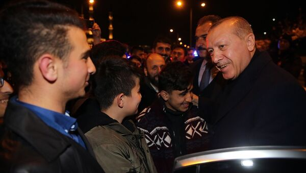Recep Tayyip Erdoğan - öğrenci - Sputnik Türkiye