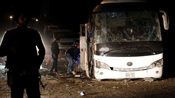 Mısır'da turist otobüsüne saldırı: 2 ölü - Sputnik Türkiye