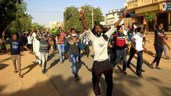 Sudan'da protesto - Sputnik Türkiye