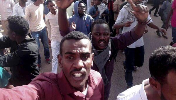 Sudan'daki Protestolar - Sputnik Türkiye