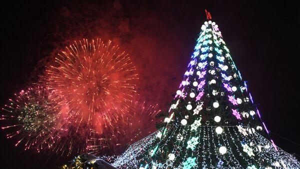 Rusya'da Yeni Yıl Kutlaması - Sputnik Türkiye