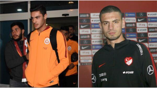 Galatasaray'ın 18 yaşındaki futbolcusu Ozan Kabak ile Aytemiz Alanyaspor forması giyen 20 yaşındaki Merih Demiral - Sputnik Türkiye