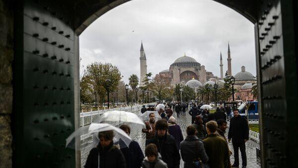 İstanbul-turist-Ayasofya - Sputnik Türkiye