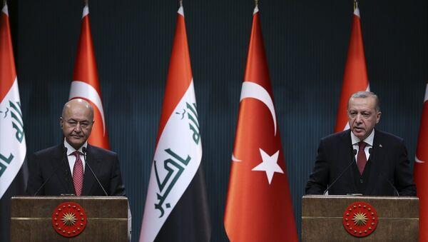 Recep Tayyip Erdoğan - Berhem Salih - Sputnik Türkiye