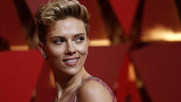 89th Academy Awards - Oscars Red Carpet Arrivals - Hollywood, California, U.S. - 26/02/17 - Scarlett Johansson - Sputnik Türkiye