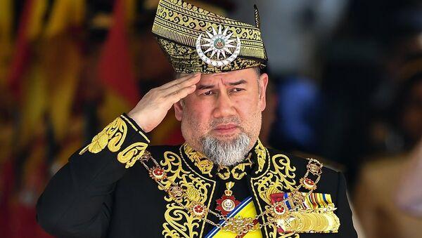 Tahtından çekilen Malezya Kralı Sultan V. Muhammed - Sputnik Türkiye