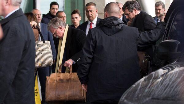 Beyaz Saray Ulusal Güvenlik Danışmanı John Bolton, Türkiye'den ayrıldı. - Sputnik Türkiye