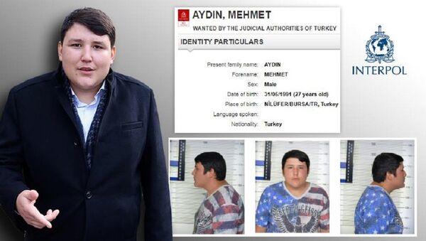 Mehmet Aydın, Interpol listesinde - Sputnik Türkiye