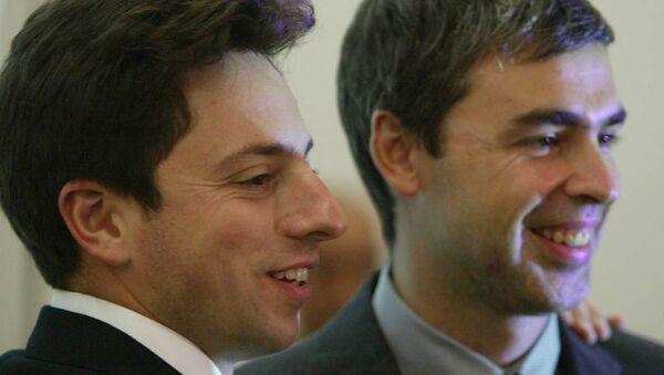 Google'ın kurucusu Larry Page ve Sergey Brin - Sputnik Türkiye