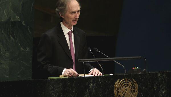 Birleşmiş Milletler Suriye Özel Temsilcisi Geir O. Pederson - Sputnik Türkiye