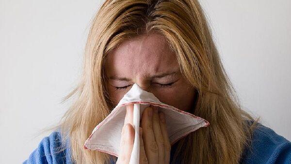 grip, soğuk algınlığı - Sputnik Türkiye