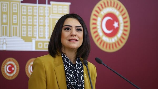 CHP Ankara Milletvekili Gamze Taşcıer - Sputnik Türkiye