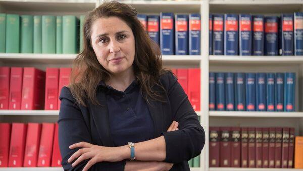 NSU davasının müdahil avukatlarından Seda Başay Yıldız - Sputnik Türkiye