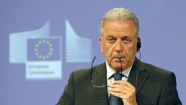 EU Commissioner for Migration, Home Affairs and Citizenship Dimitris Avramopoulos (File) - Sputnik Türkiye