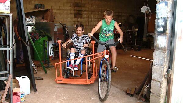 Arjantin'de engelliler için bisiklet icat edildi - Sputnik Türkiye