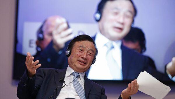 Çin'in teknoloji devi Huawei'nin kurucusu ve başkanı Ren Zhengfei - Sputnik Türkiye