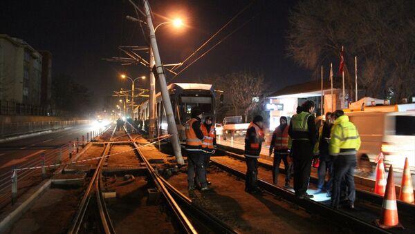 T1 Kabataş-Bağcılar Tramvay hattında arıza - Sputnik Türkiye