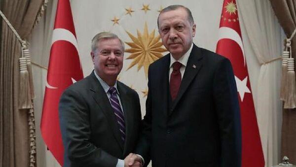 ABD'li senatör Lindsey Graham Beştepe'de - Sputnik Türkiye