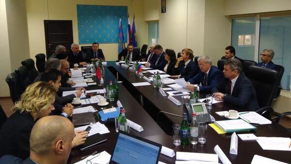 Rusya-Türkiye Uluslararası Karayolu Taşımacılığı Komisyonu toplantısından bir kare - Sputnik Türkiye