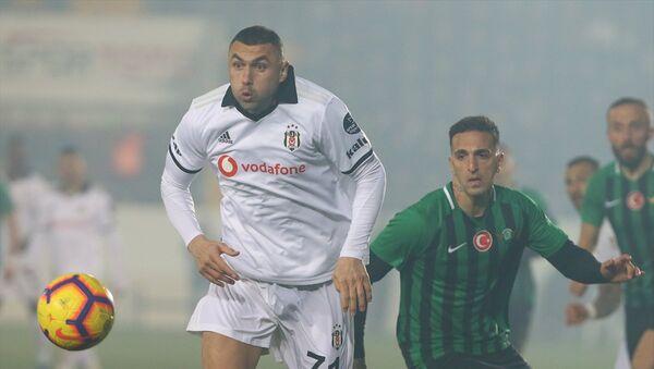Beşiktaş, ligin ikinci yarısına galibiyetle başladı: Akhisarspor'dan kural hatası - Sputnik Türkiye