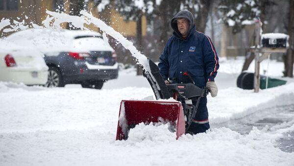 ABD- kar fırtınası - Sputnik Türkiye